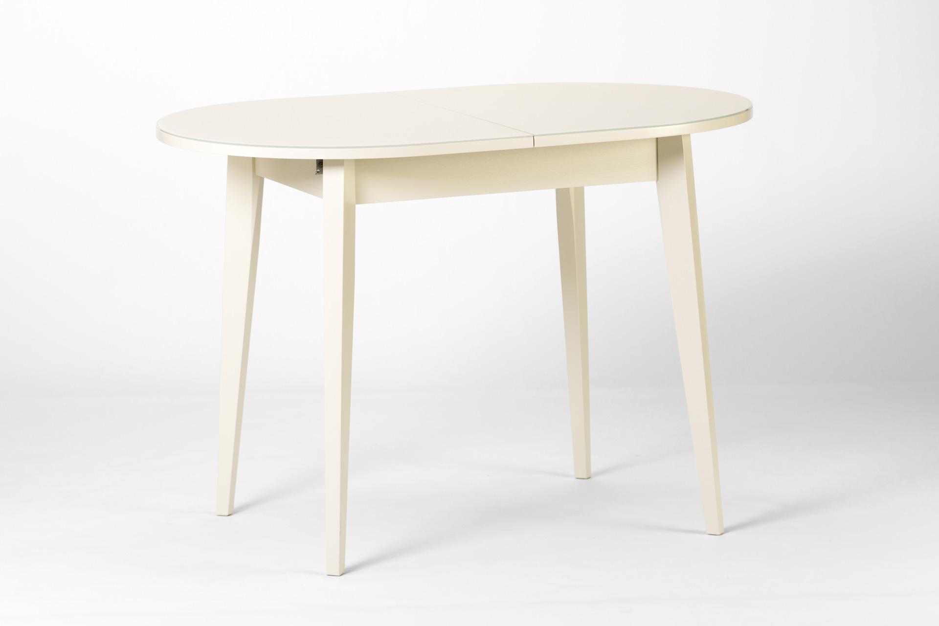 Овальний кухонный стол
