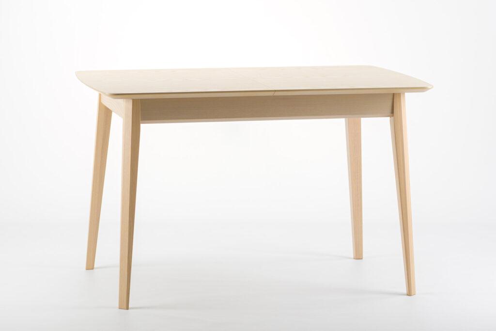 """Прямокутний кухонний стіл """"Венти-орто"""" - розкладна стільниця, шпонований ясен • OLEKSENKO Столи та Стільці •"""