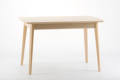 """Прямоугольный кухонный стол """"Венти-орто"""" - раскладная столешница, шпонированный ясень • OLEKSENKO Столы и Стулья •"""